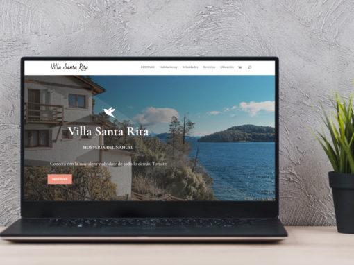 Website Villa Santa Rita