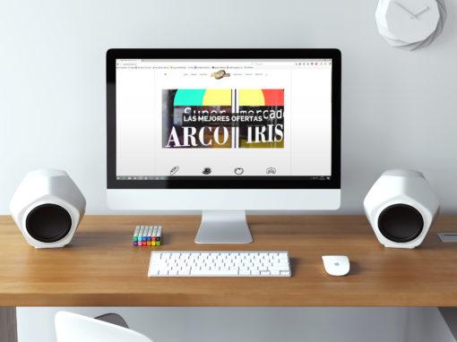 Website Supermercado Arco Iris S.A.