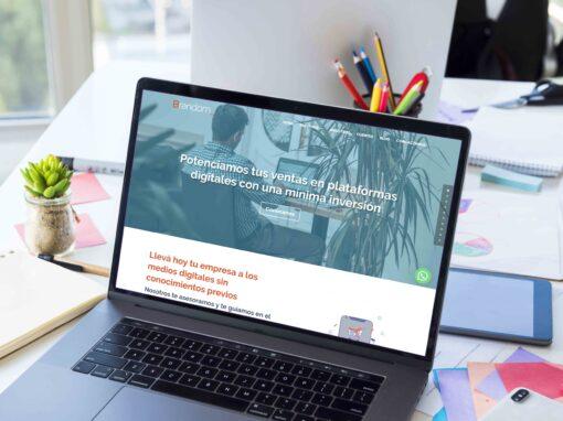 Website Agencia Brandom