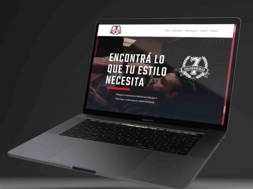 7 Golondrinas – Website